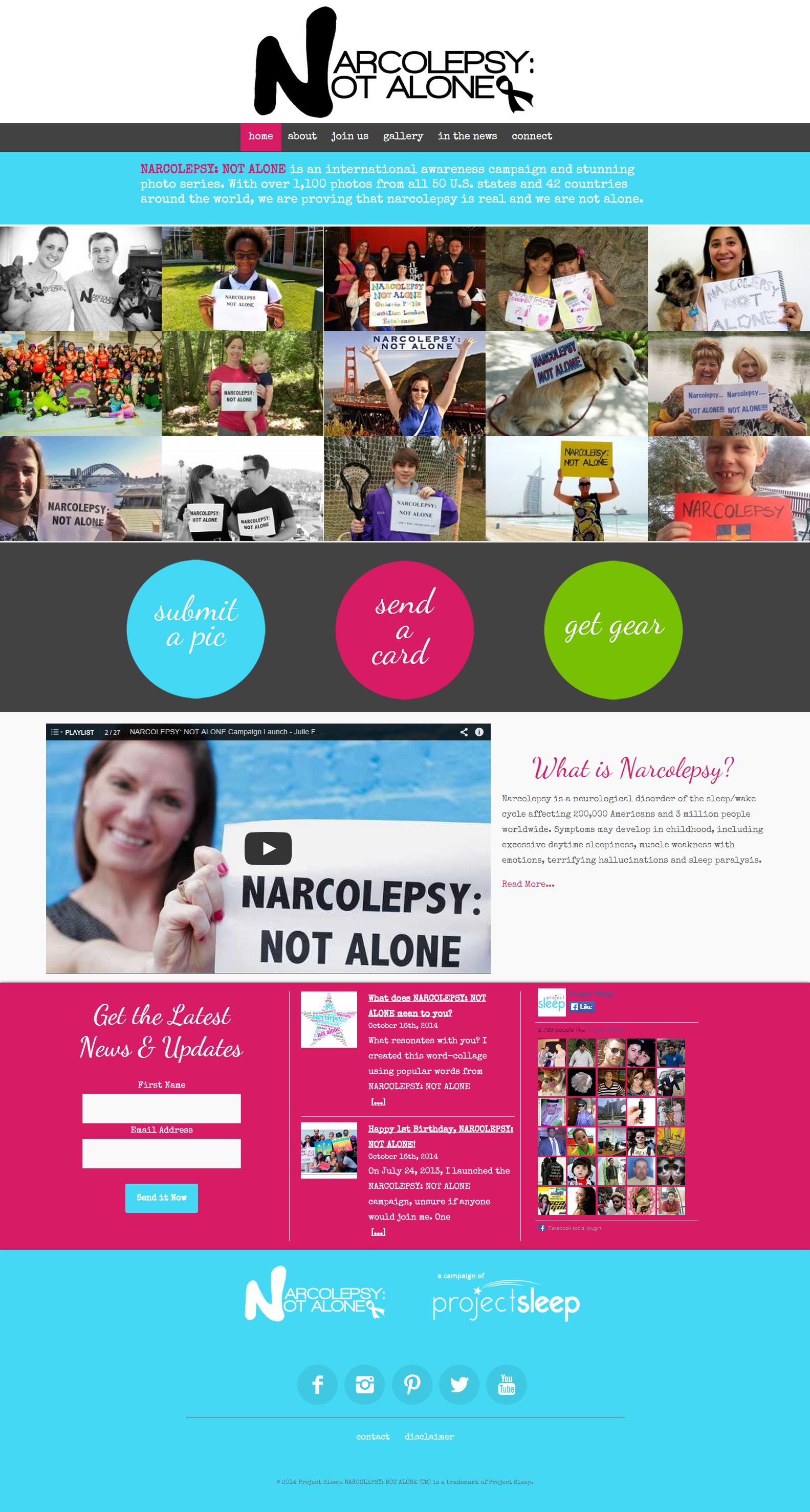 Narcolepsy Not Alone