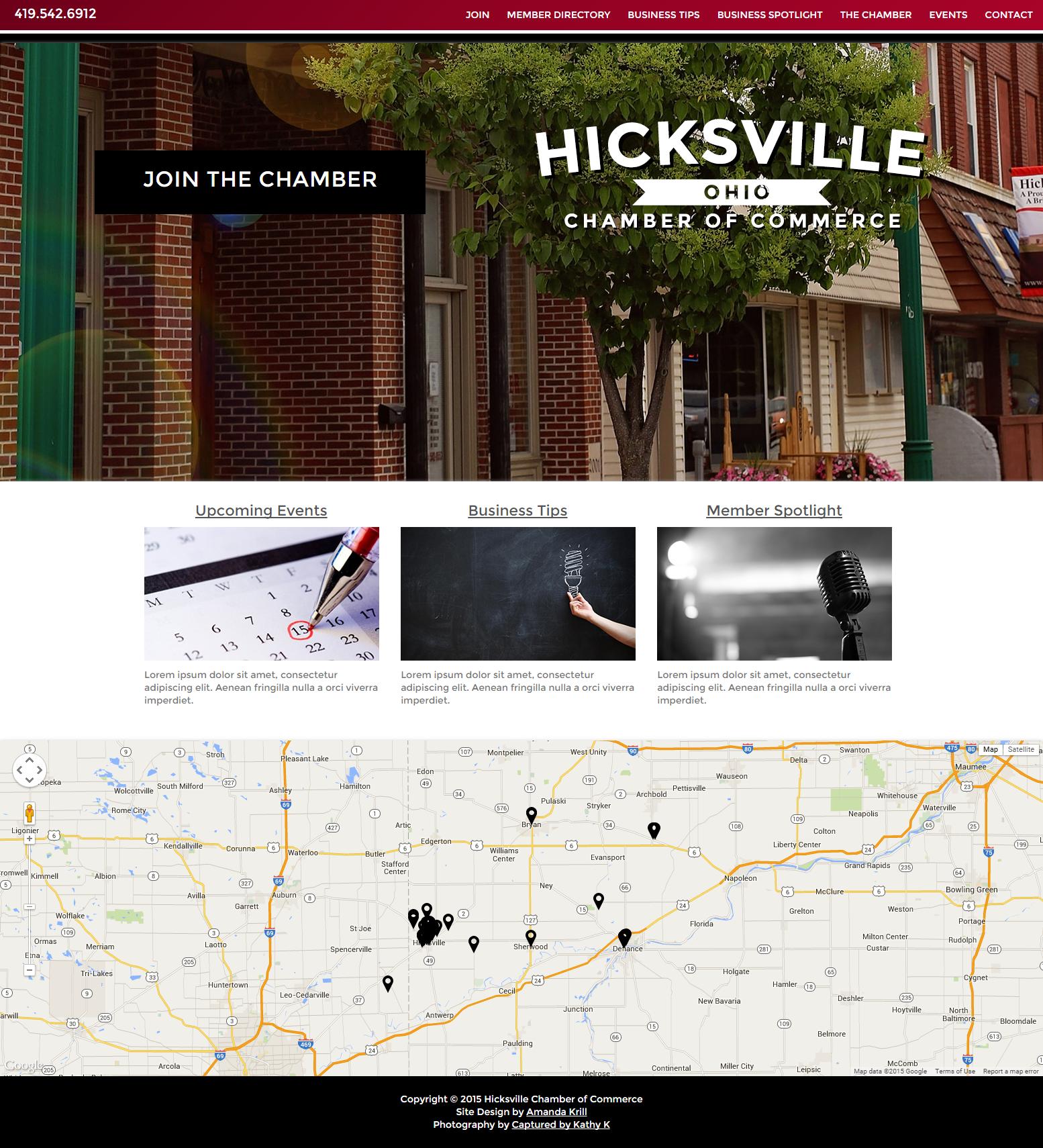 Hicksville  OH   Hicksville Chamber of Commerce