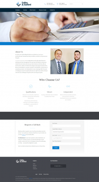 Collins and Guilford: Wealth Advisors