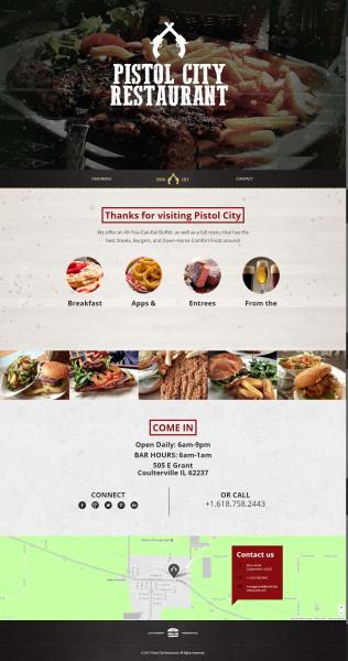 Portfolio: Pistol City Restaurant