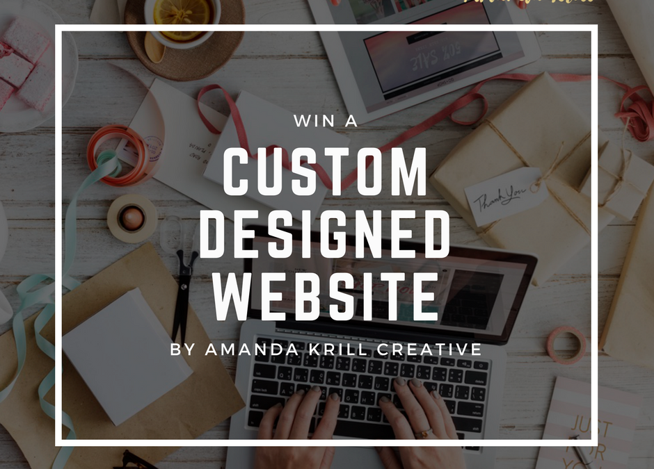 I'm Giving Away A Custom Designed Website
