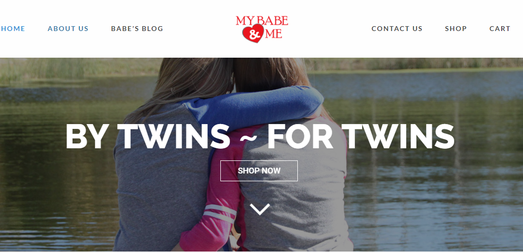 My Babe & Me – New Website