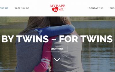 My Babe & Me – New Website