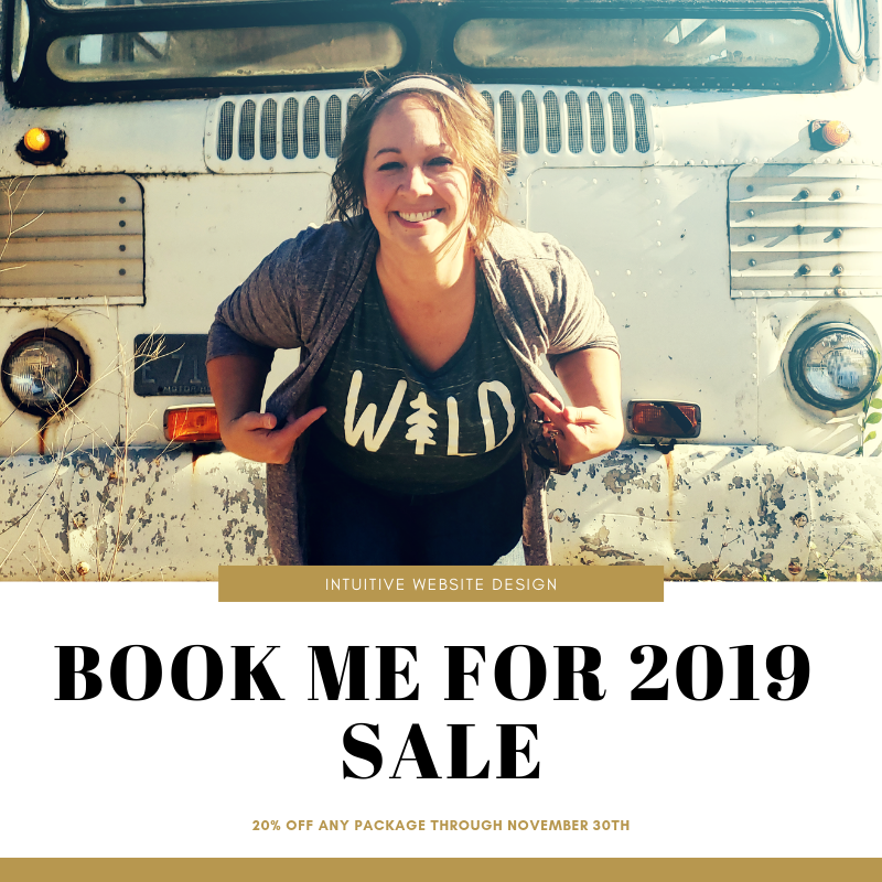 Book Me for 2019 Sale